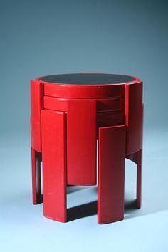 1966_ Nest of tables, Model 783, Designed by Gianfranco Frattini for Cassina