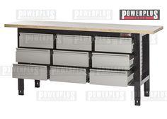 werkstatt set wp 5 schwarz werkbank werkstattwagen 5 schubladen preis 699 zzgl. Black Bedroom Furniture Sets. Home Design Ideas