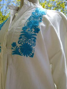 Check out this item in my Etsy shop https://www.etsy.com/listing/511136696/hand-embroidered-ecuadorian-cotton