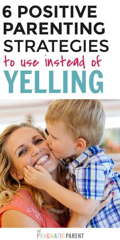 6 positive parenting strategies to use instead of yelling Positive parenting techniques to use in place of yelling. Want to try parenting without yelling or stop being an angry Mom? 6 Strategies to keep in your proactive parenting back pocket. Positive Parenting Solutions, Mindful Parenting, Gentle Parenting, Peaceful Parenting, Best Parenting Books, Parenting Advice, Funny Parenting, Positive Discipline, Toddler Discipline