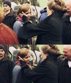 Emma Watson & Maggie Smith.