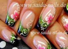Saida Nails - media library | pictures and videos of several nail artworks by Saida Nasirova