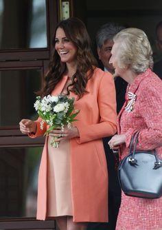 Pretty Princess Kate in peach