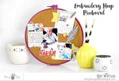 @KimWatson @fancypantsdsgns #happyplacecollection #scrapbooking #papercraft #DIYdecor