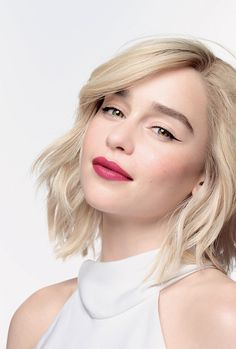 Emilia Clarke for Clinique Emilia Clarke Hot, Emelia Clarke, Gal Gadot, Emilia Clarke Daenerys Targaryen, Eliza Taylor, Mother Of Dragons, Thing 1, Khaleesi, British Actresses