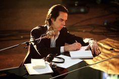 Nick Cave  Nick Cave's Tragedy and the Very Beautiful Music Documentary: An Interview With 'One More Time With Feeling' Director Andrew Dominik After screening the film in his home, Andrew Dominik talks about the art of filming grief in 3D black-and-white.   http://www.indiewire.com/2016/08/nick-cave-documentary-one-more-time-with-feeling-andrew-dominik-venice-film-festival-2016-1201720338/