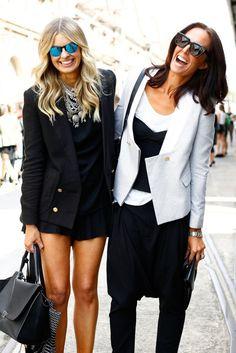 Great minds think (& dress) alike.