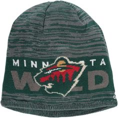 6c9e9e4d351 Men s Minnesota Wild adidas Green On Ice Knit Hat