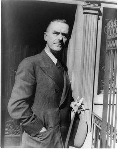 Thomas Mann by Carl Van Vechten,1937