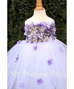 Lavender Hydrangea Petal Dress by My Precious by MyPreciousTutu, $100.00