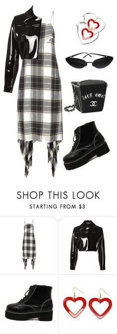 """""""Untitled #979"""" by lucyshenton ❤ liked on Polyvore featuring Public School, Emilia Wickstead, WithChic and Chanel"""