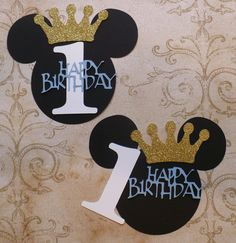 DIY Mickey Mouse Blue Happy Birthday 1 by sandylynnbscrapping