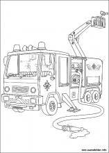 Die 63 Besten Bilder Von Feuerwehrmann Sam Coloring Pages