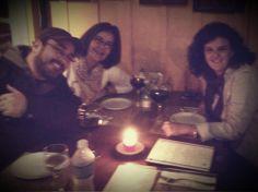 Delícia de happy de amigos!!! Saudades e fofocas!!! #uepa