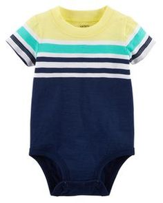 Colorblock Jersey Bodysuit carters 6.95