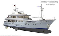 110' Expedition | Explorers & Expeditions | Setzer #Yacht Architects yachtsailor.blogspot.com