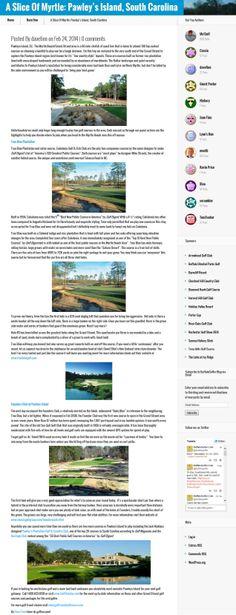 Pawleys Island SC - Buffalo Golfer
