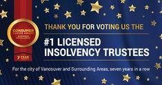 Sands & Associates voted Consumer Choice Award's Best Licensed Insolvency Trustee in Vancouver & Lower Mainland. Read more. Award Winner, Sands, Vancouver