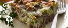 Wondering what to do with your leftover roast beef? Turn it into a tasty main dish pie complete with veggies.