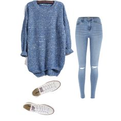 A fashion look from August 2015 featuring River Island and Converse sneakers. Browse and shop related looks.