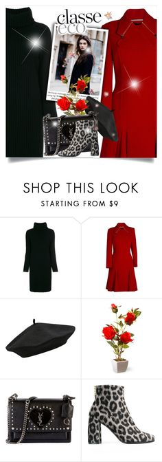 """""""Untitled #781"""" by beautifulplace ❤ liked on Polyvore featuring Lamberto Losani, Roland Mouret, Chanel, M&Co, National Tree Company, Yves Saint Laurent and STELLA McCARTNEY"""