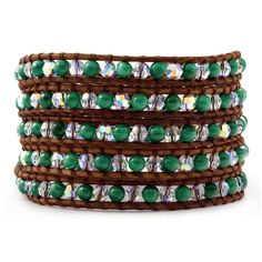 May - Malachite Wrap Bracelet on Natural Brown Leather - See more at: http://www.onlinechanluu.com/May---Malachite-Wrap-Bracelet-on-Natural-Brown-Leather_p-298257.html#sthash.OBMXYzeJ.dpuf