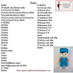 Samyelinin Örgüleri: Büyük Boy PEPEE'nin TARİFİ / YAPILIŞI | 236x236