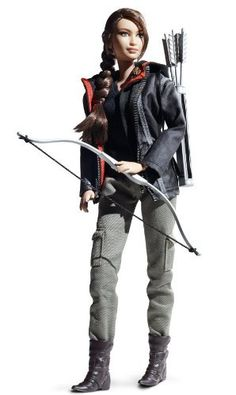 Barbie Collector Hunger Games Katniss Everdeen Doll by Mattel.  Yesss!! haha