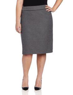 Jones New York Women's Plus-Size A-Line Skirt