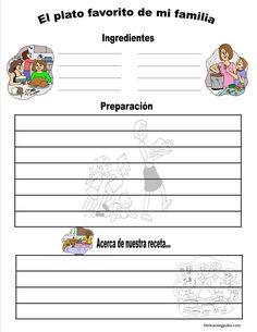 Free Items - The Learning Patio Spanish Classroom Activities, Educational Activities, Preschool Activities, Spanish Teacher, Teaching Spanish, Learn To Speak Spanish, Writing Strategies, Bilingual Education, Reading Workshop