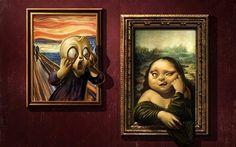 The Mona Scream