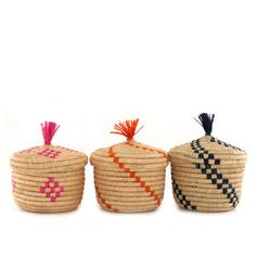 Small Treasure Baskets – babasouk.ca : Small colourful boxes for festive souls. Ideal for stashing your treasures, your jewels and your secrets.