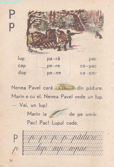 Romanian Language, Vintage School, Kids Education, Book Illustration, Vintage World Maps, Nostalgia, Activities, Learning, Books