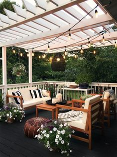 48 backyard porch ideas on a budget patio makeover outdoor spaces best of i like this open layout like the pergola over the table grill 26 Backyard Inspiration, Home, Pergola Lighting, House Design, Outdoor Decor, Patio Decor, Outdoor Patio Decor, Backyard Decor, Dream Backyard