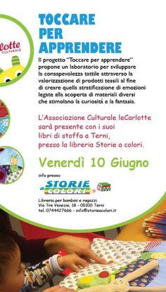 Toccare per apprendere @ Storie a colori - Libreria per bambini e ragazzi  - 10-Giugno https://www.evensi.it/toccare-per-apprendere-storie-a-colori-libreria-per-bambini/178832051