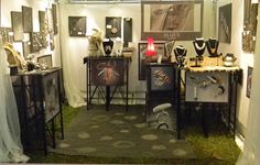 booth set up..ISAJUL jewelry