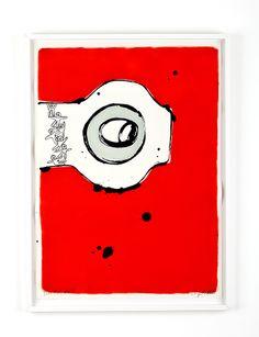 VEM TAR VEM Bläck och olja på papper Cajsa Fredlund, cajfre@gmail.com