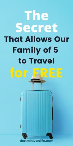 So many people struggle with how to save money for travel. You want to travel the world and take elaborate vacations but you just can't afford to. Well with these budget travel tips and budget travel hacks I can show you how our family of 5 travels for free. It's time to learn all about miles and points travel with this post on travel hacking for beginners. Packing Tips For Travel, Travel Hacks, Travel Essentials, Budget Travel, Road Trip With Kids, Travel With Kids, Us Travel, Family Travel, Affordable Family Vacations