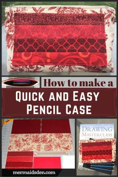 Sewing tutorial and
