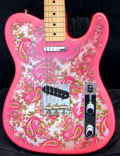 Fender Telecaster 1969 Reissue in Pink Paisley
