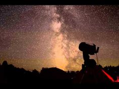 Manitoulin Star Party 2013 Timelapse By Sibi Sutty Gordon Parks, Star Party, Dark Skies, Astronomy, Sky, Sunset, Stars, Outdoor, Heaven