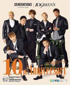 東急モールズデベロップメントが運営する渋谷のファッションビル「109メンズ」は、開業10周年を記念してオリジナルビジュアルにダンス&ボーカルユニット「GENERATIONS from EXILE TRIBE」を起用した。2月27日から渋谷を皮切りに、札幌、福岡の「109メンズ(109MEN J Pop Bands, Ulzzang Boy, Dancer, Idol, Album, My Love, Boys, Fashion News, Celebrities