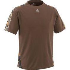 Men's Short Sleeve XCT Performance T-Shirt deergear.com #LegendaryWhitetails