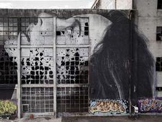 Broken Window Theory-Geelong - Street Art by Rone  <3 <3