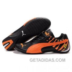45625ae9406ee1 Men s Puma SF Future Cat (Fashion) In Black-Orange Authentic