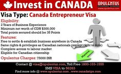 Canada Entrepreneur Visa targets experienced foreign business persons who will establish a business in Canada. They need to actively manage businesses in Canada with a Canadian entrepreneur visa. The business should contribute to the economy and create jobs in Canada. Person who wants to establish a business in Canada, who wishes to reside and work in Canada permanently on a permanent basis can apply under the Canada entrepreneur visa.