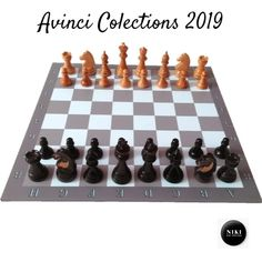 Aici poti gasi creatii unice executate de Niki Shop Creations Piese de sah din lemn cu magnet Chess Pieces, Shopping