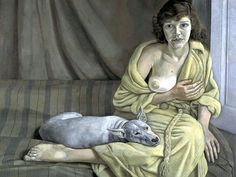 """RIP Lucien Freud """"Girl with a White Dog"""", 1950"""