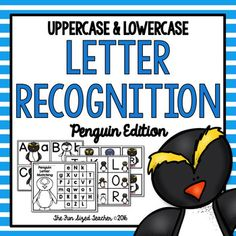 These Common Core aligned, upper and lowercase letter recognition activities are so fun for the winter months! Students will enjoy playing the three included centers while they practice recognizing their upper and lower case letters. Students can match upper and lowercase letters using the puzzle cards, play memory match and go on a letter hunt, using upper or lower case letters, or be more challenged with a mix!