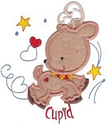 Santa's Sleigh 6 Applique - 3 Sizes! | What's New | Machine Embroidery Designs | SWAKembroidery.com Bunnycup Embroidery